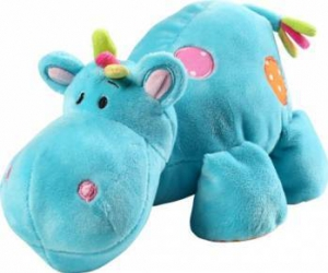 Jucarie copii din plus hipopotan BabyOno 994 Jucarii de Plus