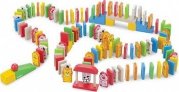 Jucarie copii New Classic Toys Dominoes 110 pieces Jucarii
