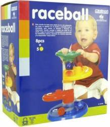 Jucarie cursa cu bile pentru bebelusi Miniland Jucarii Bebelusi