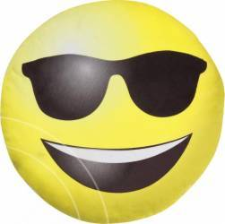 Jucarie De Plus Rotunda Imoji Smiling Face With Sunglasses 33 Cm