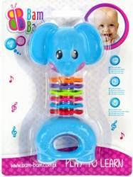 Jucarie Dentitie Zornaitoare Elefant Bambam Jucarii Bebelusi