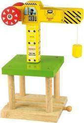Jucarie educativa Big Jigs Big Yellow Crane
