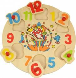 Jucarie educativa Big Jigs Clown Clock Jucarii Interactive