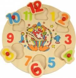 Jucarie educativa Big Jigs Clown Clock Jucarii Interactive