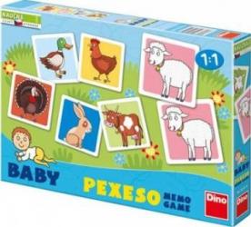 Jucarie educativa Dino Toys Farm - Memo Game Jucarii Interactive