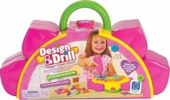 Jucarie educativa Educational Insights Design and Drill - Flower Power Studio Jucarii Interactive