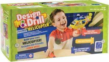 Jucarie educativa Educational Insights Design and Drill - Helicopter Jucarii Interactive