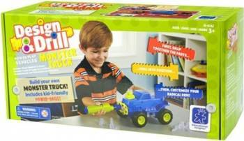 Jucarie educativa Educational Insights Design and Drill - Monster Truck Jucarii Interactive