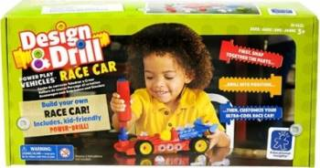 Jucarie educativa Educational Insights Design and Drill - Race Car Jucarii Interactive