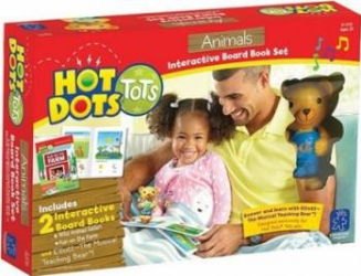 Jucarie educativa Educational Insights Hot Dots - Animals Jucarii Interactive