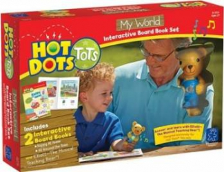 Jucarie educativa Educational Insights Hot Dots - My World Jucarii Interactive