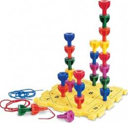 Jucarie educativa Learning Resources Lacing Beads Jucarii Interactive
