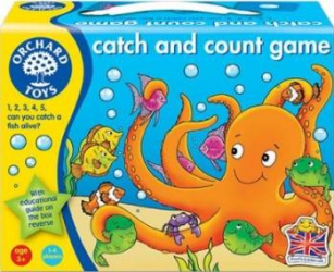 Jucarie educativa Orchard Toys Catch and Count Jucarii Interactive