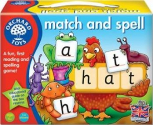 Jucarie educativa Orchard Toys Match And Spell Jucarii Interactive