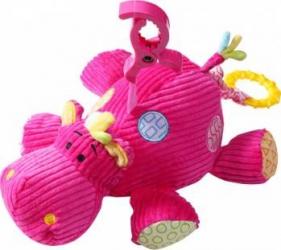 Jucarie muziala plus hipopotan BabyOno 1123 Jucarii de Plus