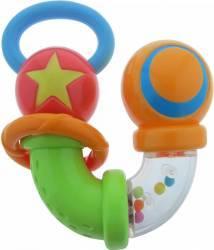 Jucarie segmente si capete rotative zornaitoare Primii Pasi Rosu Verde Jucarii Bebelusi