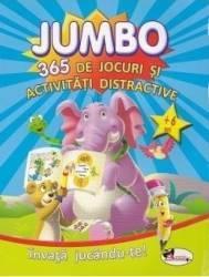Jumbo 365 de jocuri si activitati distractive 6 ani+ Carti