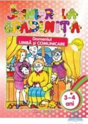 Junior la gradinita 3-4 ani Domeniul limba si comunicare Carti