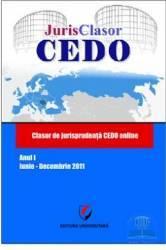 Jurisclasor Cedo Anul I Iunie-Decembrie 2011