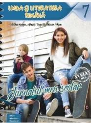 Jurnalul meu scolar pentru vacanta - Clasa 7 Limba romana ed.2018 - Cristina Cergan Mihaela Pogonici
