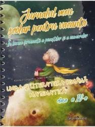 Jurnalul meu scolar pentru vacanta cls 4 Romana si matematica - Marinela Scripcariu Carti
