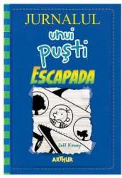 Jurnalul unui pusti Vol.12 Escapada - Jeff Kinney Carti