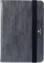 Husa Flip Just Must Vintage Universala Tableta 8 inch - 9 inch Gray Huse Tablete