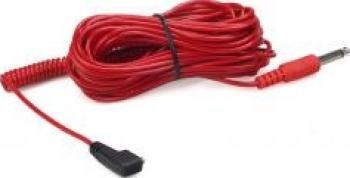 Kaiser 1409 Cablu Sincron 10m PC-Jack 6 35mm - RED