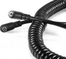 Kaiser 1450 Cablu sincron blitz PC-PC Spiralat Accesorii Blitz-uri si Lumini