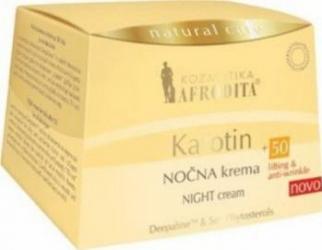 Crema de zi Cosmetica Afrodita Karotin +50 Creme si demachiante