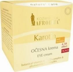 Crema de ochi Cosmetica Afrodita Karotin 15ml Creme si demachiante