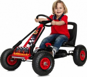 Kart cu pedale Go Kart Air Nordic Hoj Masinute si vehicule pentru copii