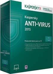 Kaspersky Anti-Virus 2015 1PC+1 Gratis 1 An Licenta Reinnoire Box