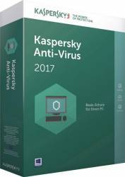 Kaspersky Anti-Virus 2017 3PC 1An+3luni gratuite Licenta Reinnoire Box
