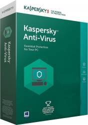 Kaspersky Anti-Virus 2018 1An 3PC Licenta Noua Box Antivirus