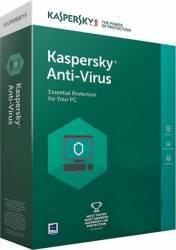 Kaspersky Anti-Virus 2018 3PC 1An Licenta Reinnoire Box Antivirus