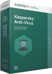 Kaspersky Anti-Virus European Edition 3PC 2Ani Licenta Reinnoire Electronica Antivirus