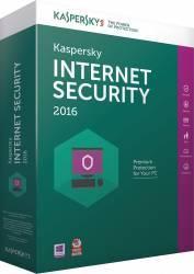 Kaspersky Internet Security 2016 3 PC +1 Gratis 1 An Renew Box