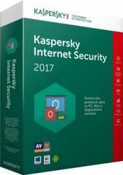 Kaspersky Internet Security 2017 3PC 1An+3luni gratuite Licenta Noua Box Antivirus