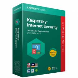 Kaspersky Internet Security 2018 3PC 1An Licenta Reinnoire Box Antivirus