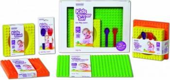 Placemat pentru copii Placematix Multicolor Cani, pahare, accesorii masa