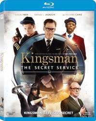 Kingsman The Secret Service BluRay 2014