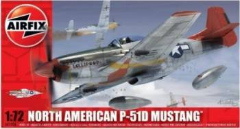 Kit aeromodele Airfix 01004 Avion North American P-51D Mustang Scara 1 72 Jucarii Interactive
