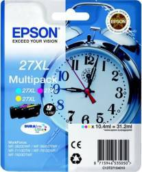 Kit cartuse multipack Epson WorkForce WF-7110DTW WF-7610DWF 3x10.4ml CMY