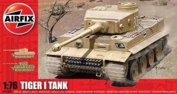 Kit constructie Airfix avion Tiger I Tank Jucarii Interactive