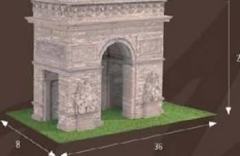 Kit constructie Arcul de Triumf Jucarii Interactive