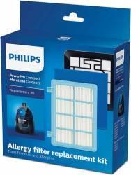 Kit de schimb Philips cu 1 filtru antialergic pentru PowerPro Compact Accesorii Aspirator & Curatenie