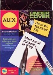 Kit de spionaj pentru mesaje secrete Alex Toys Jucarii Interactive