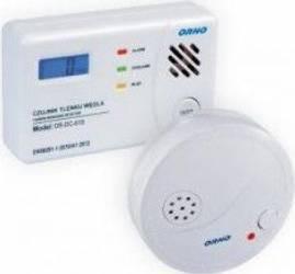 Kit detector monoxid de carbon ORNO OR-DC-619 si detector de fum ORNO OR-DC-609 Kit Smart Home si senzori