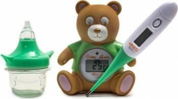 Kit esential pentru ingrijire Vital Baby Nurture 0+ Cadite, prosoape si accesorii baie